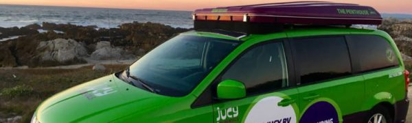 great travel experiences: JUCY at sunset in Pacific Grove, California