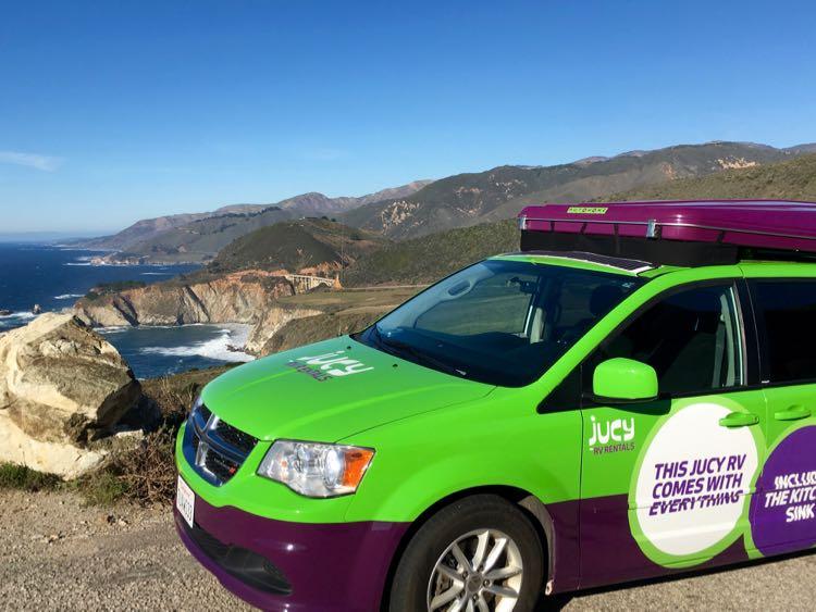 Jucy Campervan Big Sur California Road Trip Mccool Travel
