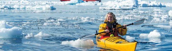 Solo Kayaking in Antarctica with Vantage Adventures