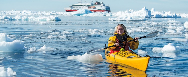 Solo Kayaking in Antarctica with Vantage Adventures