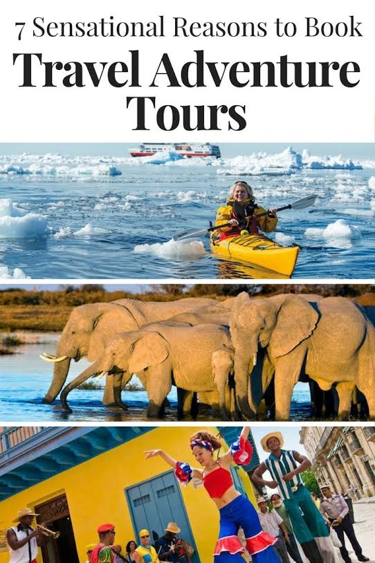 A travel adventure tour offers the opportunity to visit exotic places and experience exciting pursuits under the guidance of persons familiar with the place