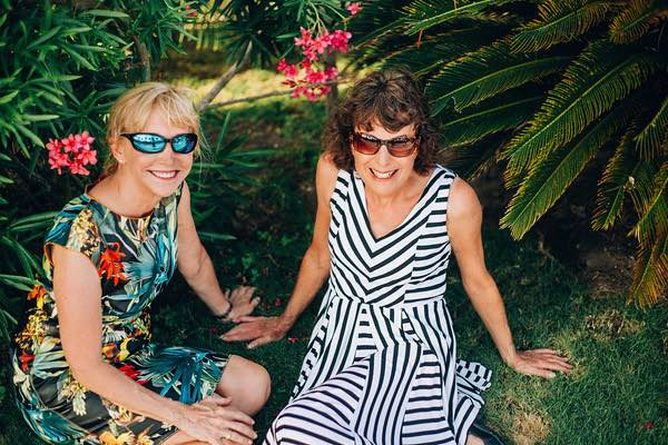 Great Travel Couples: Kay Dougherty and Anne Reilly, Blonde Brunette Travel