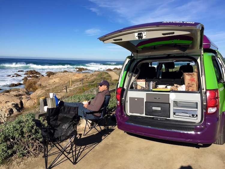 JUCY Campervan: Big Sur California Road Trip