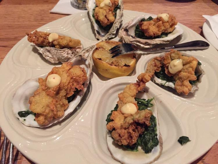 Margaritaville Beach Resort: JWB Restaurant oysters