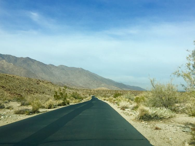 Indian Canyons Road Palm Springs California