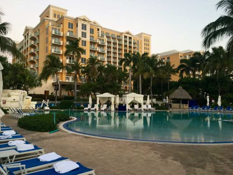 Relaxed Luxury Resorts in Florida: Ritz-Carlton Key Biscayne, Cantina Beach tequila