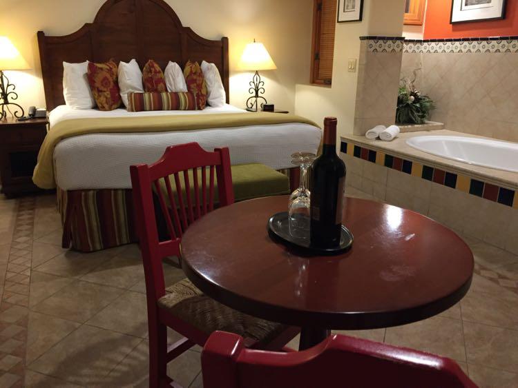 Room at Los Arboles Hotel Palm Springs California
