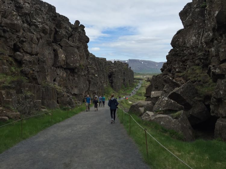 Thingvellir National Park rift