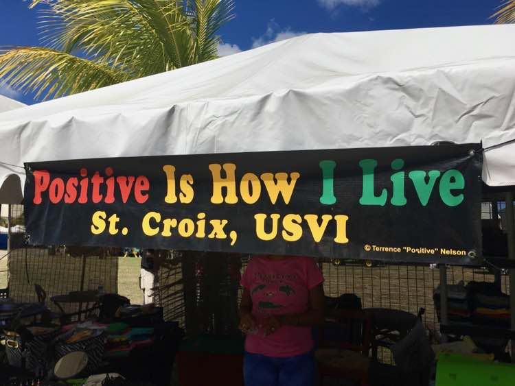 positive vibe in St. Croix