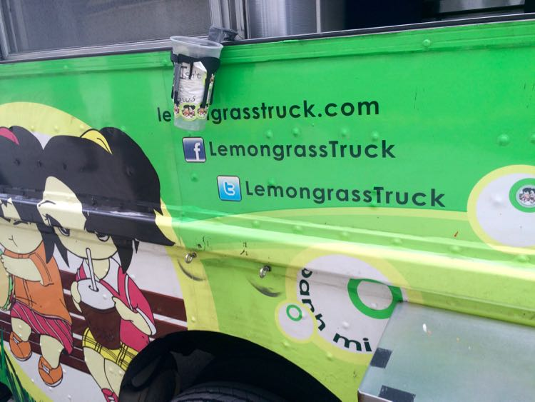 DC food trucks: Lemongrass. Article and photo by Charles McCool for McCool Travel
