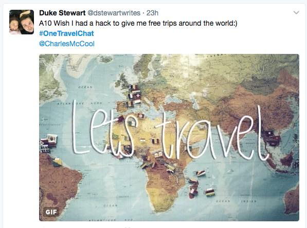 Useful Travel Hacks From #OneTravelChat by Charles McCool for McCool Travel