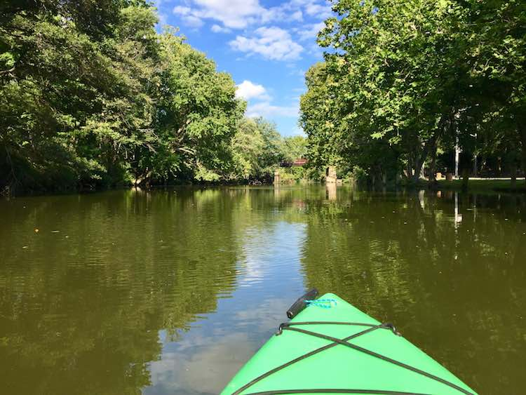 Surprising Places to Kayak in US by Charles McCool for McCool Travel.