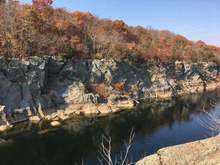 places to visit near DC: Great Falls Maryland