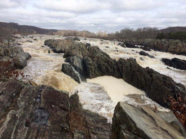 places to visit near DC: Great Falls National Park.