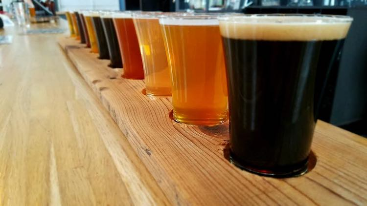 great craft beer places in USA. Article by Charles McCool for McCool Travel.