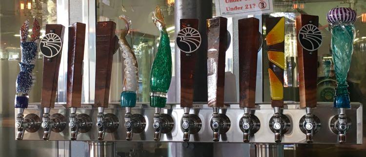 great craft beer places in USA. Article and photo by Charles McCool for McCool Travel.