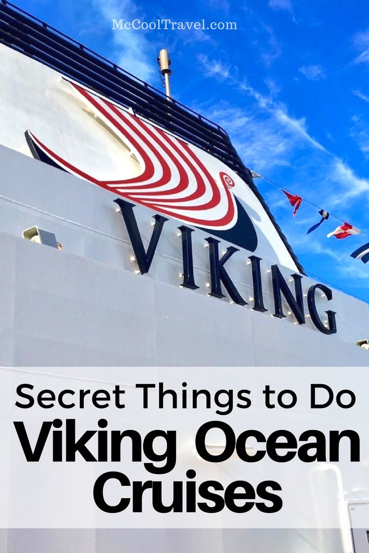 Here are some travel tips for things to do on Viking ocean cruises I learned from my 2 itineraries and from insiders. Viking will soon have 4 ocean vessels.