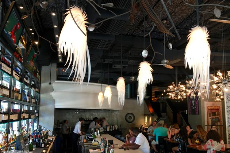 great places to eat in Charlotte, North Carolina. Article and photo by Charles McCool for McCool Travel.