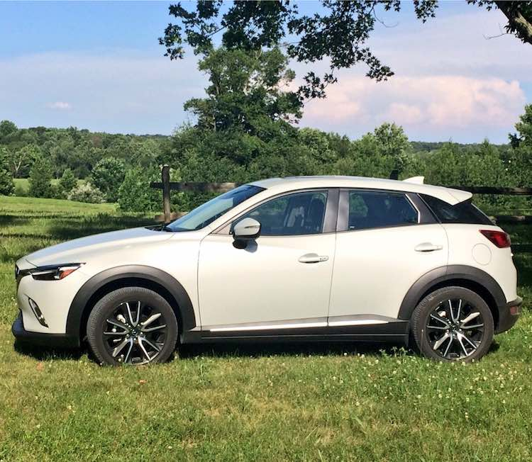 Mazda CX-3 in scenic Virginia