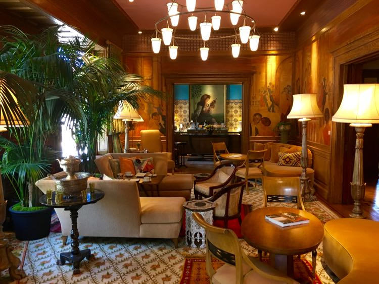 Relaxed Luxuryat The Ivy Hotel Baltimore. Article and photo by Charles McCool for McCool Travel.