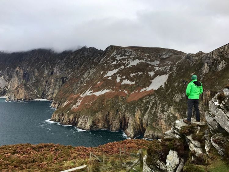 Hiking Slieve League Donegal Ireland