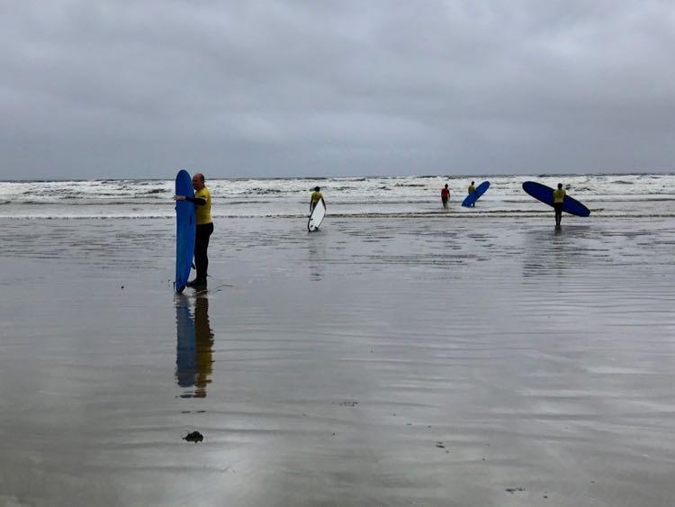 Surfing Donegal Ireland