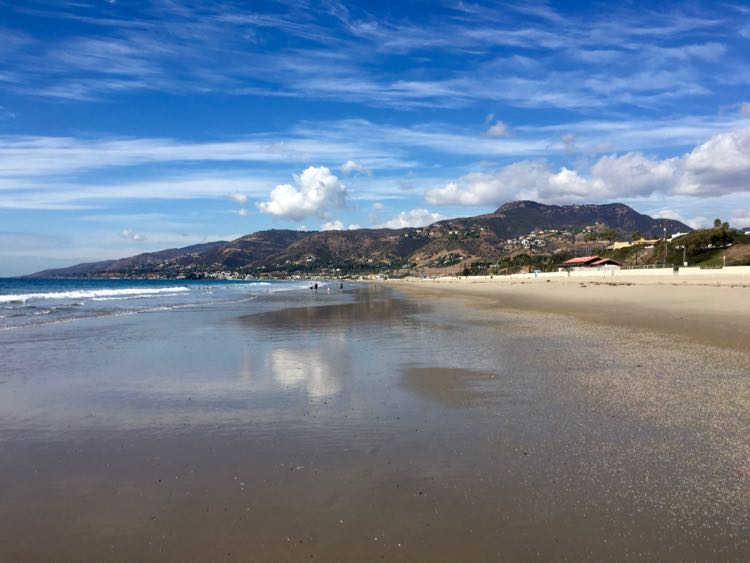 Malibu beach, near Conejo Valley