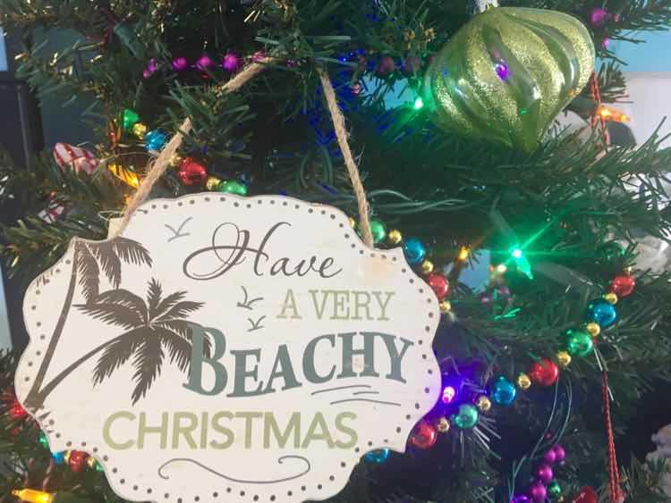 tropical christmas decorations florida edition - Florida Christmas