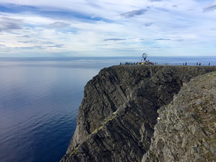Dramatic cliffs, Nordkapp Norway