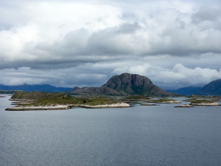 Mountain with a Hole in it Norway