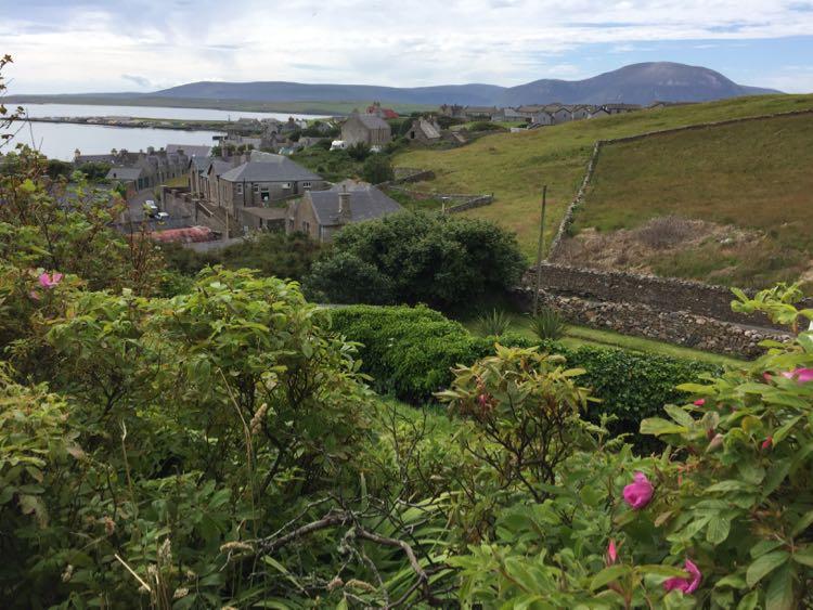 Orkney Islands view Scotland