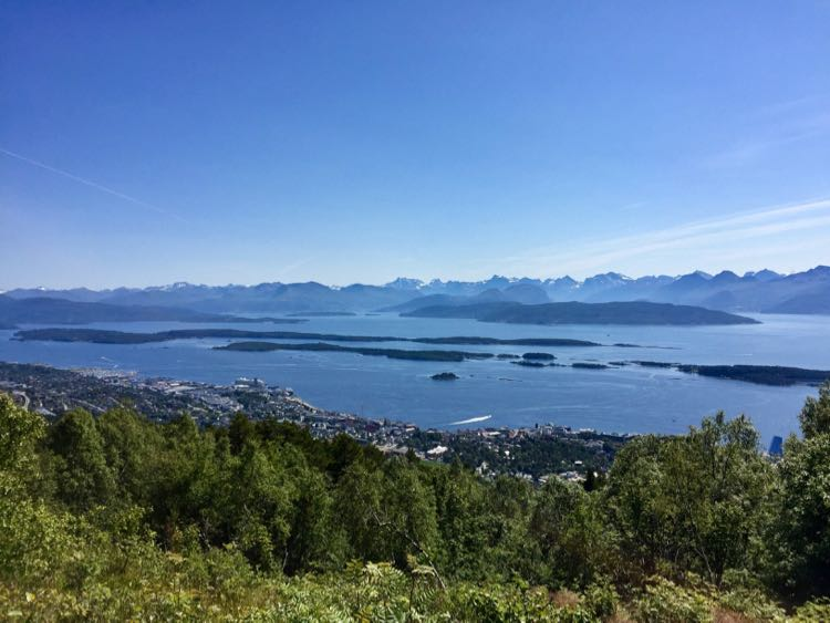 Panoramic Varden Viewpoint Molde Norway