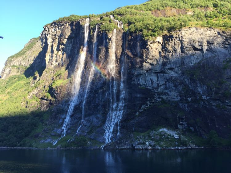 Seven Sisters Waterfall Geiranger Norway