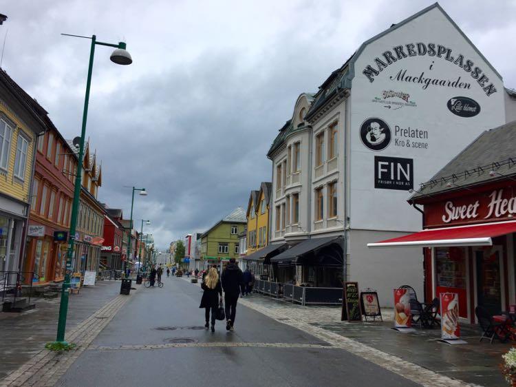 streets of Tromso Norway