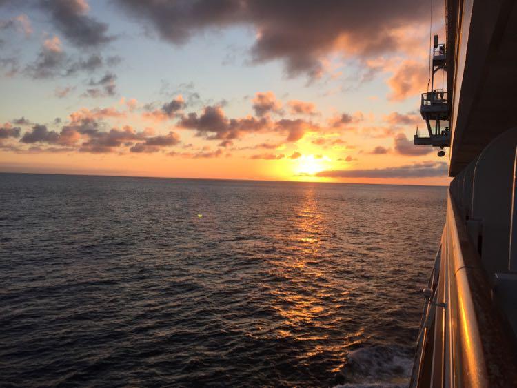 Viking Cruises Into the Midnight Sun sunset North Sea