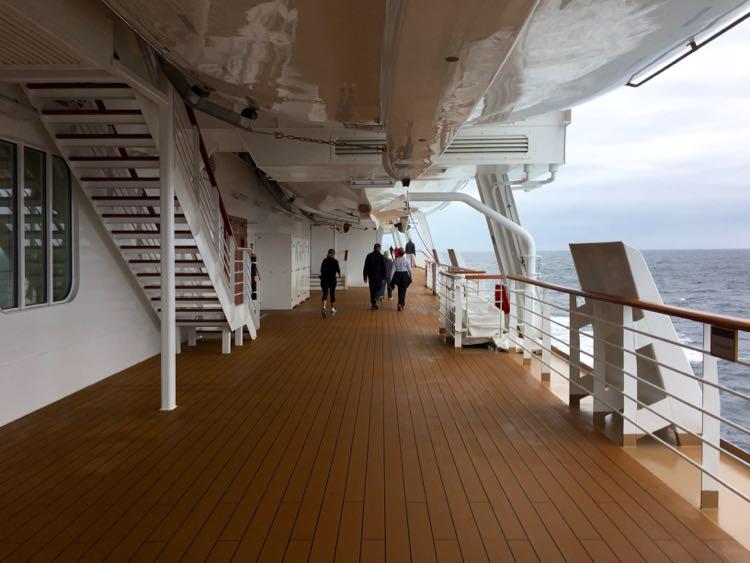 Walking the Promenade Deck Viking Cruises