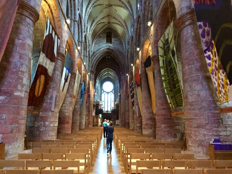 St Magnus Cathedral in Kirkwall Orkney Scotland