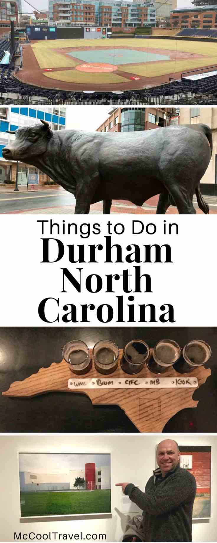 Durham North Carolina USA. Things to do in Durham NC include a vibrant scene of arts, local cuisine and craft beverages, historic preservation and recognition.