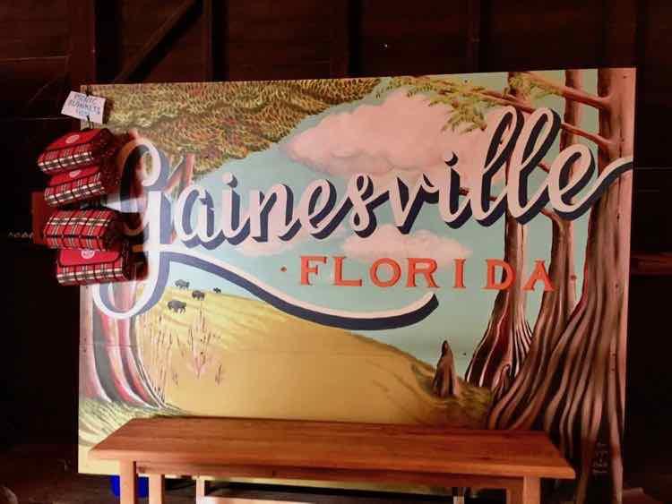 Gainesville sign